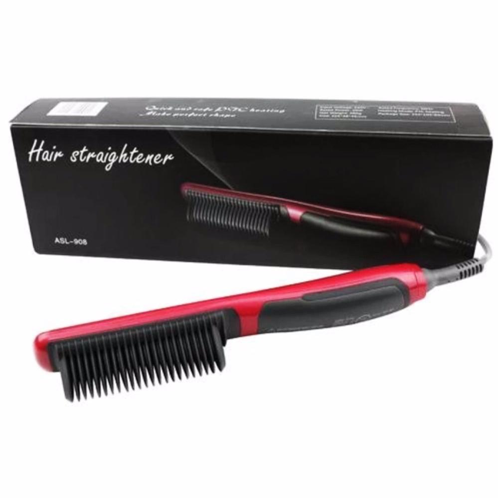 Belanja Murah Catok Sisir Pelurus Rambut New Fast Hair Straightener Ion Asl 908