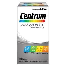 Centrum Advance 100 Tablets Adult