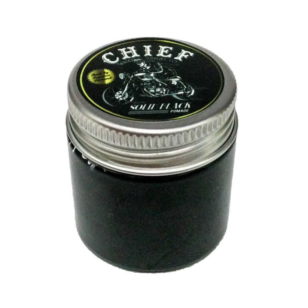 Chief Pomade Official Carbon Comb Sisir Karbon Barber And Supplies Black Mini Edition Waterbasetravel Pack
