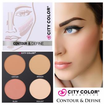 City Color Cosmetics Contour & Define Palette