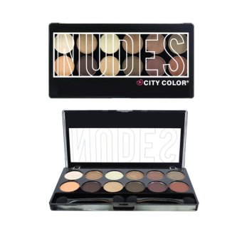 City Color Cosmetics Nudes Eyeshadow Palette