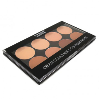 City Color Cream Concealer And Contour Palette - Original