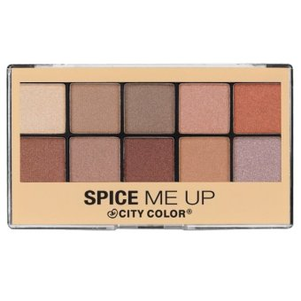 City Color Eyeshadow Palette Spice Me Up Original