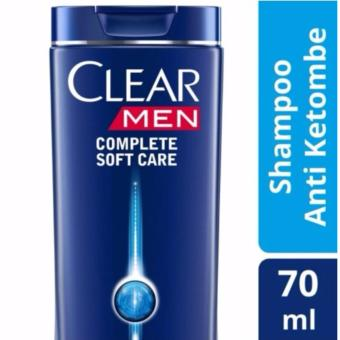 Clear Men Shampoo Anti Ketombe Complete Soft Care 70ml