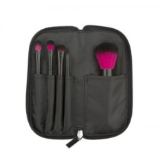 coastal scents brushes. coastal scents color me fuchsia 5 piece brush set (br-set-021) - intl brushes 2