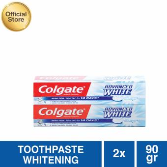 Colgate Advanced White Toothpaste/Pasta Gigi 90g - 2 pcs