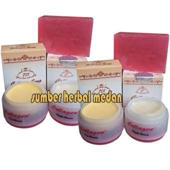 Collagen Cream Day and Night Plus Sabun Original - 2psc