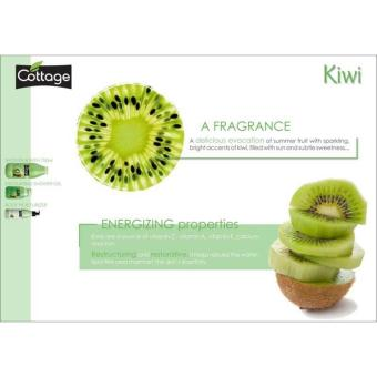 Cottage Gentle Exfoliating Shower Gel Kiwi 250ml - France Scrubbing Hilangkan Daki Sabun Scrub - 2
