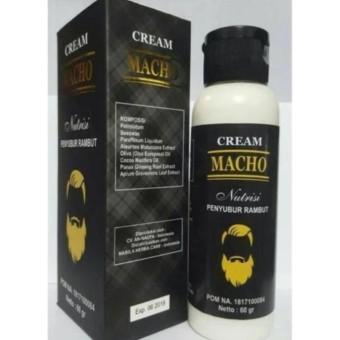 Cream Macho Nutrisi Penyubur Rambut