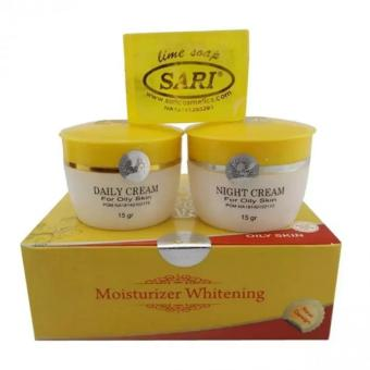 Cream Sari Oily Skin Original - 1 Paket