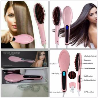 Harga DIGITAL- Sisir Catok Digital Fast Hair Straightener HQT-906 Murah