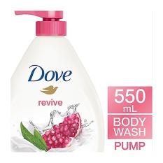 Dove Go Fresh Revive Body Wash Pump 550Ml