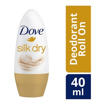 Dove Roll On Deodorant Silk Dry 40Ml