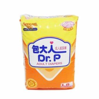 DR.P Special Type L-8 - DR.P Adult Diaper, Popok Dewasa, PopokOrang Tua, Popok Orang Sakit, Pampers Dewasa, Pampers Orang Tua,Pampers Orang Sakit