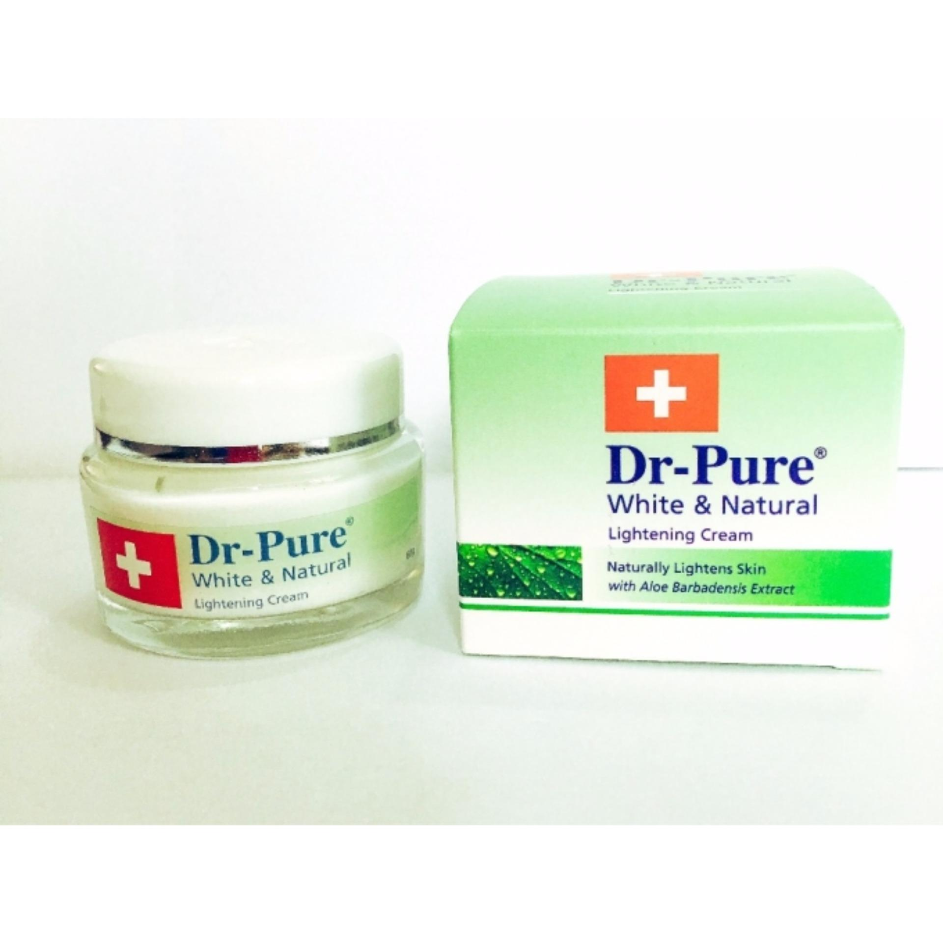 ... Dr.pure Original - Pemutih Wajah Natural Special Cream Bpom - Putih ...