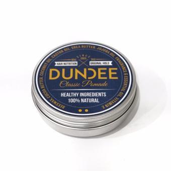 Harga DUNDEE Classic Pomade – Original Hold – 85g | 100% Natural dan Organik | Sehat untuk rambut | Mencegah kerontokan Murah