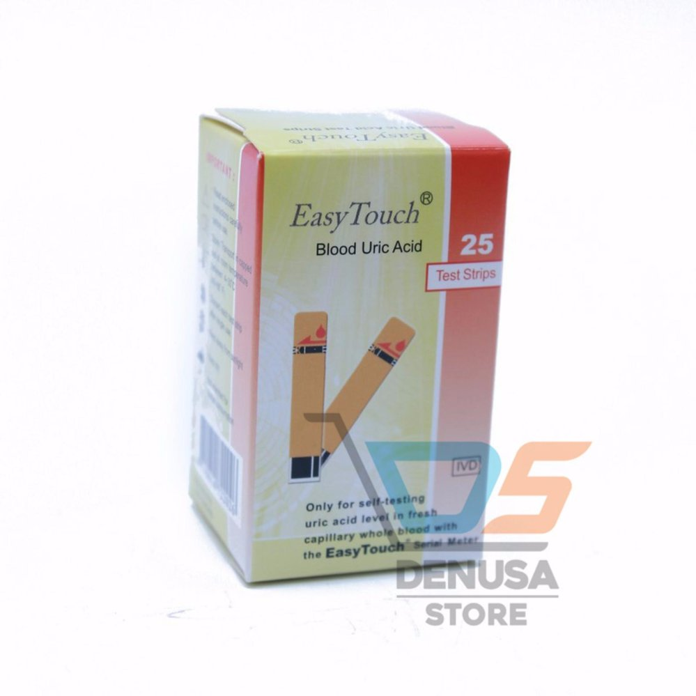 13 Easy Touch Tes Strip Asam Urat Ccyeeyc
