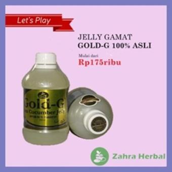 Ekstrak Teripang Asli / Jelly Gamat Gold-G Sea Cucumber Herbal Alami