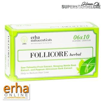 Harga Erha Follicore Herbal Box 60 caps (penumbuh rambut) Murah