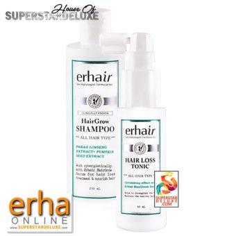 Erha Hair Bundle : Hair Grow Shampoo + Tonic (save 20%)