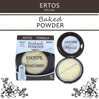 ERTOS Baked Powder all in 1 Bedak Erto's