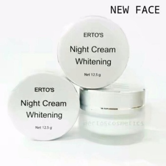 Ertos Night Cream Whitening Original