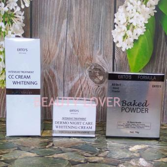 Ertos Paket CC Cream + Night Cream + Baked Powder