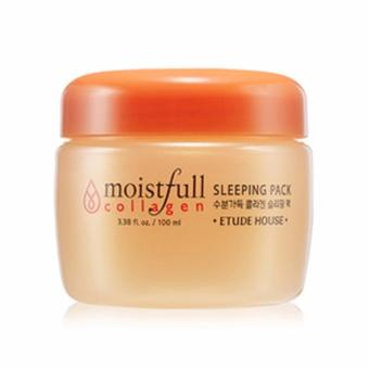Etude House Moistfull Collagen Sleeping Pack Anti Aging MaskerWajah - 100ml