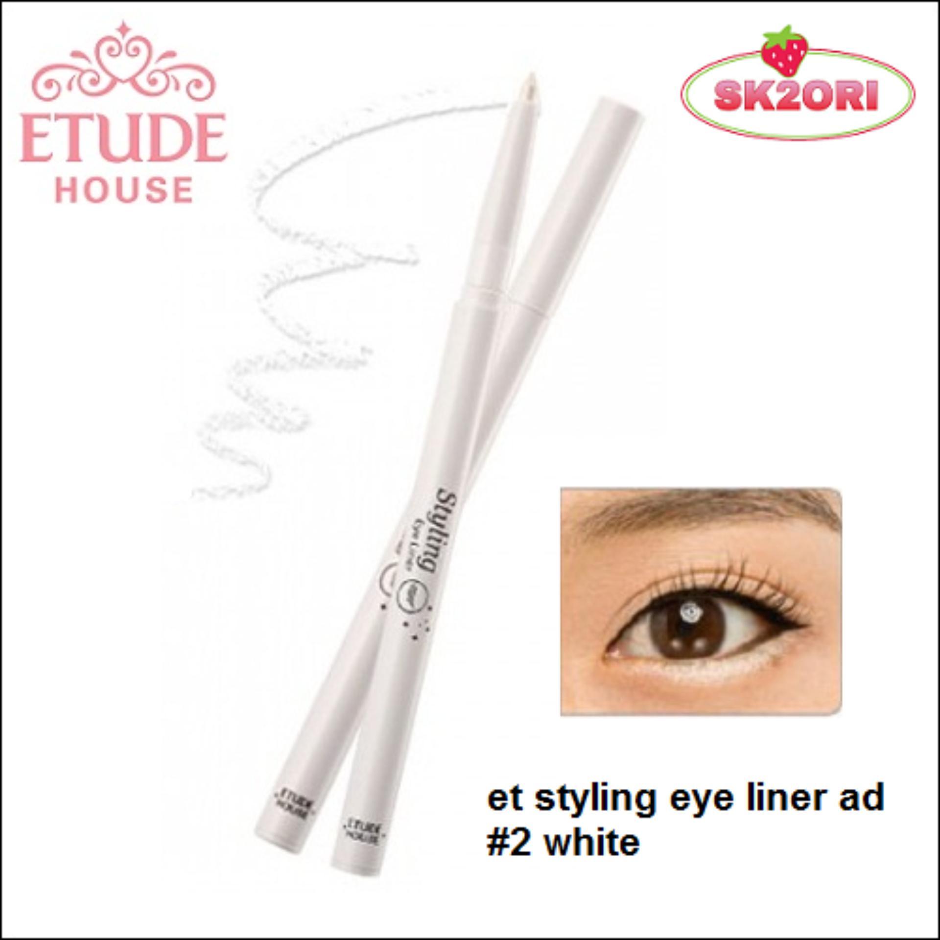 Etude House Styling Eyeliner 01black Daftar Harga Terbaru Indonesia Source Eye Liner 0 2g 2 White Lazada Malaysia