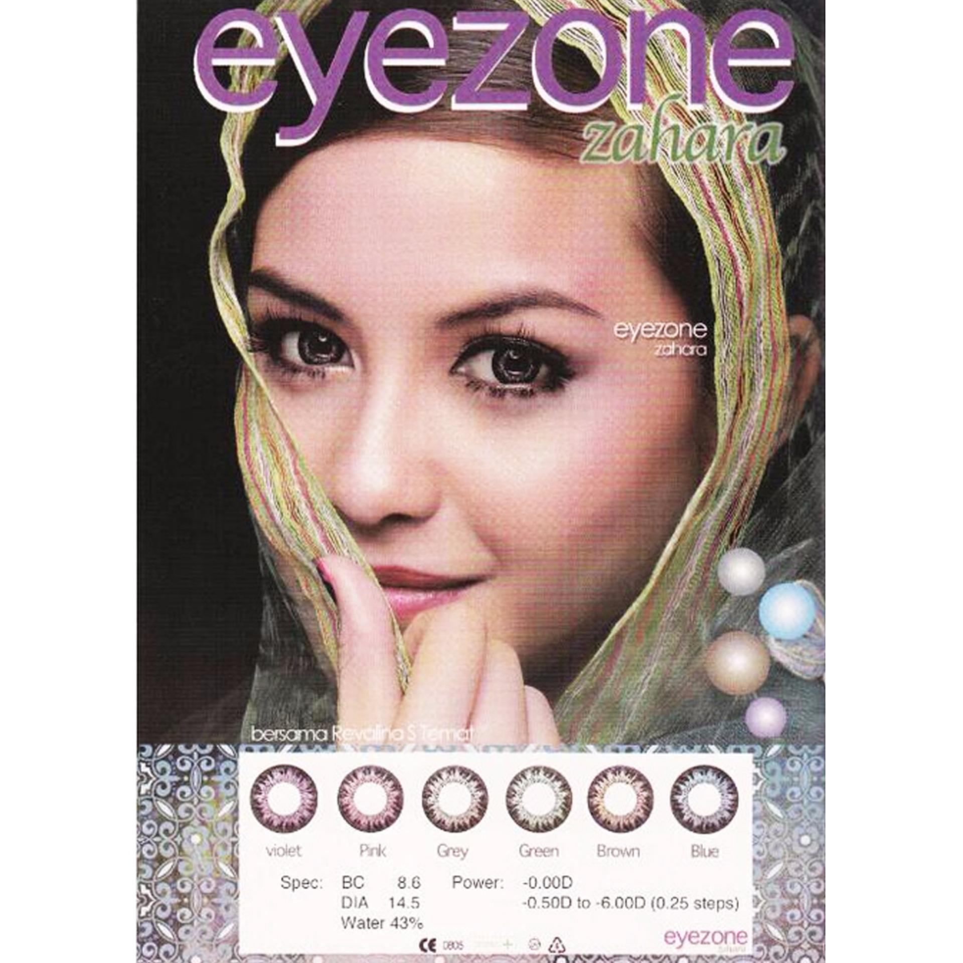 X2 Ice Nude N8 Softlens Pink Free Lenscase Cairan 60ml Update Source · Eyezone Zahara Softlens