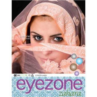 Eyezone Zahara Softlens - Grey + Gratis Lenscase - 5 .