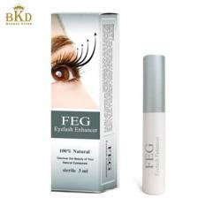 FEG Bulu Mata Enhancer Eye Lash Serum Pertumbuhan Cepat Cair 100% Natural 3 Ml KAMI-Internasional