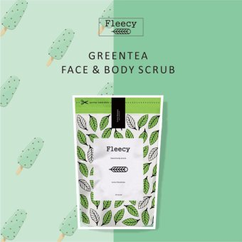Fleecy Face & Body Scrub Original New - Green Tea