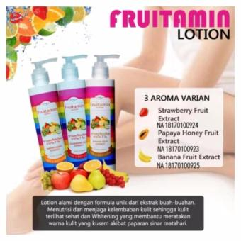 Fruitamin Hand & Body Lotion 250 ml Original BPOM - Lotion