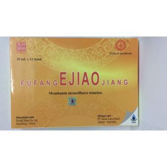 Fu Fang EJIAO Jiang 12 Botol @20 Ml - Obat Sakit Kepala, PenambahSatmina,