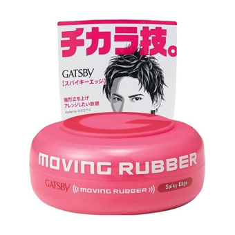 Gatsby Spriky Moving Rubber Spiky Edge Pink - 80gr