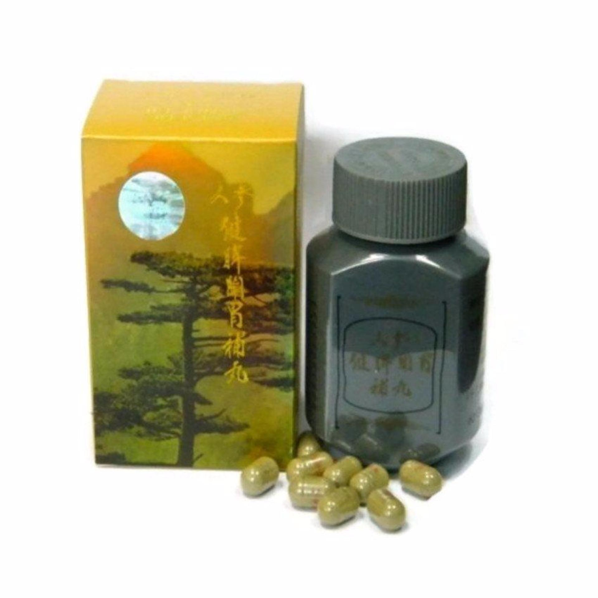Flash Sale Ginseng Kianpi Pil GOLD Original Berhologram Emas - Pil Penggemuk Badan Herbal - 60 Kapsul