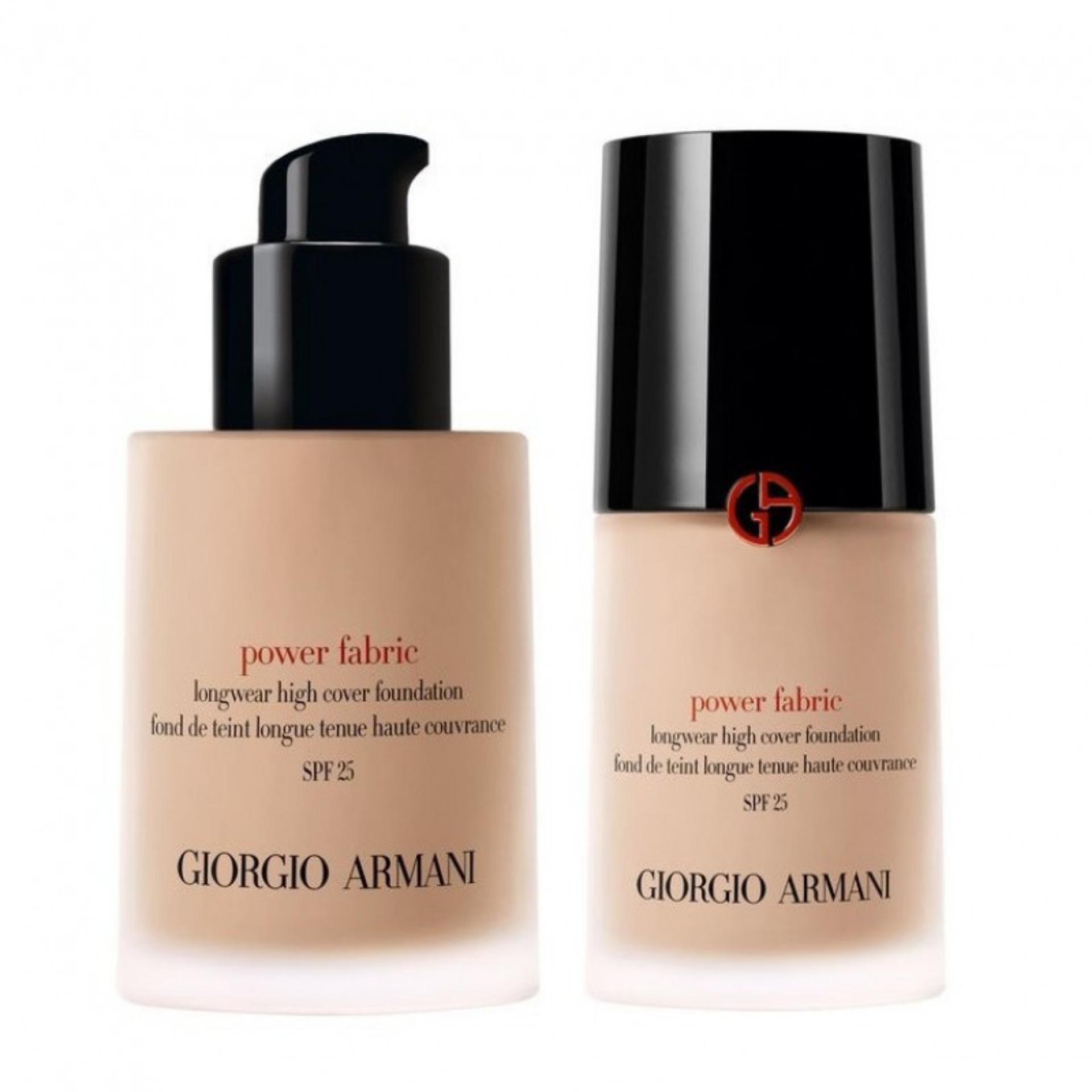 GIORGIO ARMANI Power Fabric Longwear High Cover Foundation SPF 25 - Kecantikkan, kosmetik, makeup