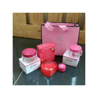 Glansie Paket Normal Cream Pemutih Wajah Beauty Care Dr.Fajar Original