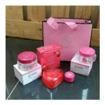 Glansie Paket Normal Cream Pemutih Wajah Beauty Care Dr.FajarOriginal