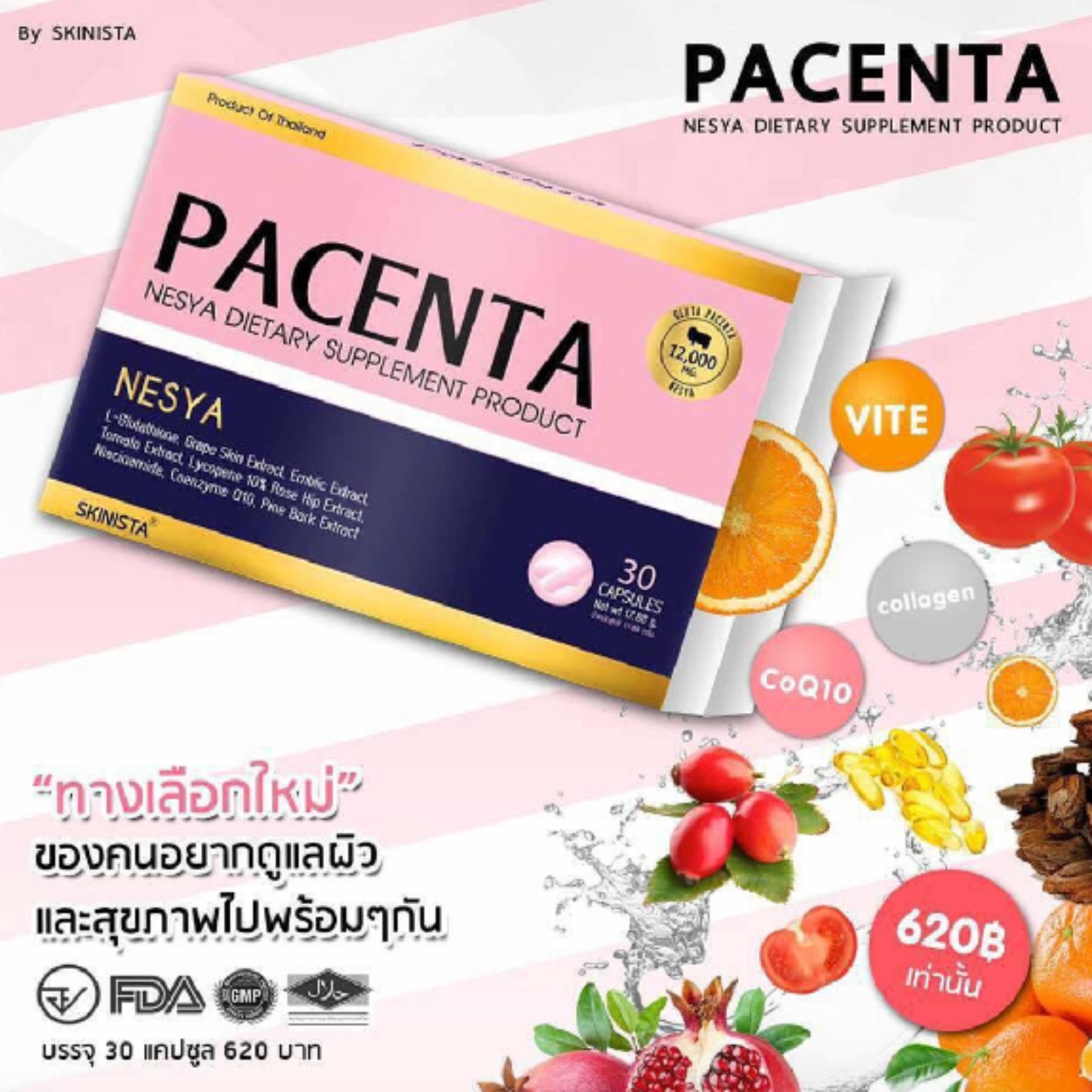 Pencari Harga Gluta Pacenta Whitening Jaminan 100 Asli 30 Kapsul Berrygloss  2 Gratis 1 Original Box