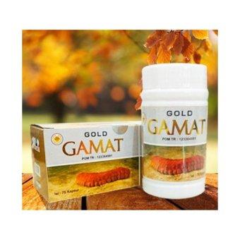 Gold Gamat Plus Kapsul Ekstrak Gamat Emas