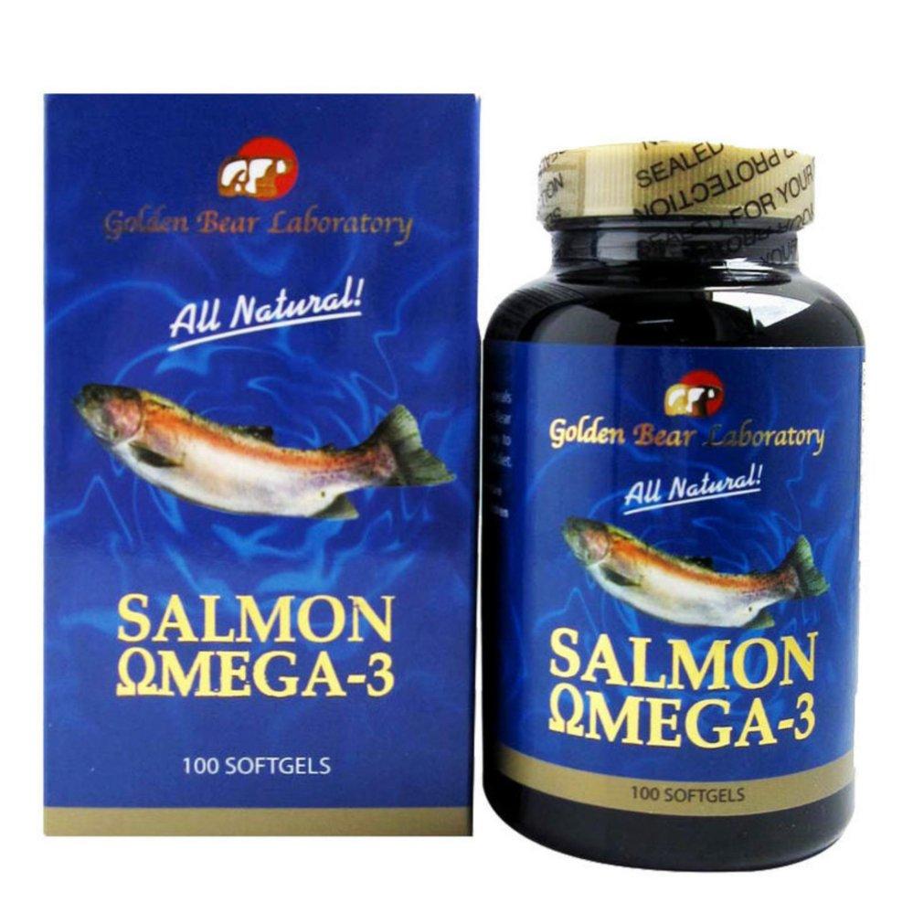 Harga Termurah Golden Bear Salmon Omega 3 100s Suplemen Jantung Minyak Ikan Lautan Dalam Alaska K Max 6 9 Cheap Online Kolesterol Hipertensi Darah Tinggi Fish Oil Nyeri Sendi Dha