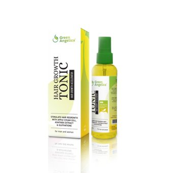Green Angelica Hair Tonic Penumbuh Rambut Hair Growth Accelerator
