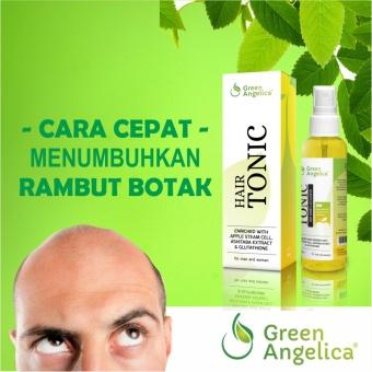 Harga Green Angelica Obat Botak Penumbuh Rambut Botak Alami Dan Aman Teruji BPOM Murah
