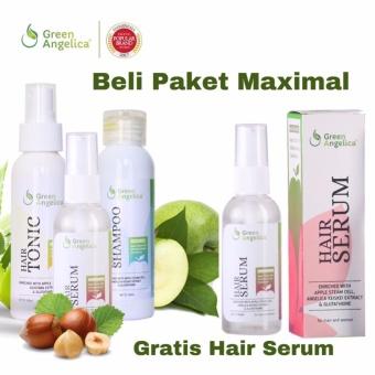 Harga Green Angelica Paket Penumbuh Rambut Alami Cepat Dan Obat Kerontokan Rambut – 3 Buah Murah