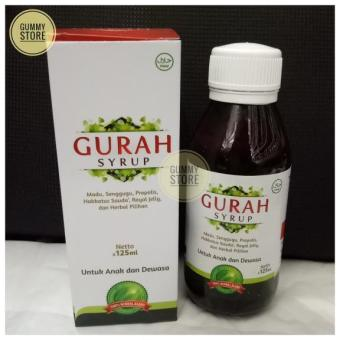 Gurah Syrup Hanifah 125 Ml Sirup Gurah Anak Dewasa >>