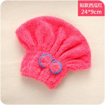 Harga H tebal handuk rambut kering topi mandi Murah