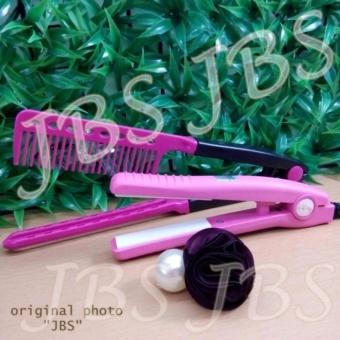 Harga Haidi Catokan Mini Pelurus Rambut – HD 768 – Pink – Sisir Ion Pelurus Rambut – Jepitan Rambut Murah
