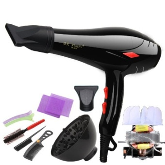 Harga Hair dryer, high power 3000W, constant temperature, cold and hotair, negative ion wind, household hair dryer, mute blow drum – net- intl Murah